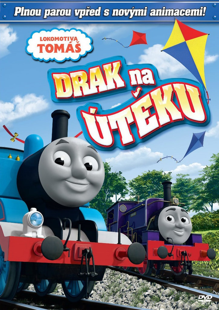 DVD Lokomotiva Tomáš - Drak na útěku