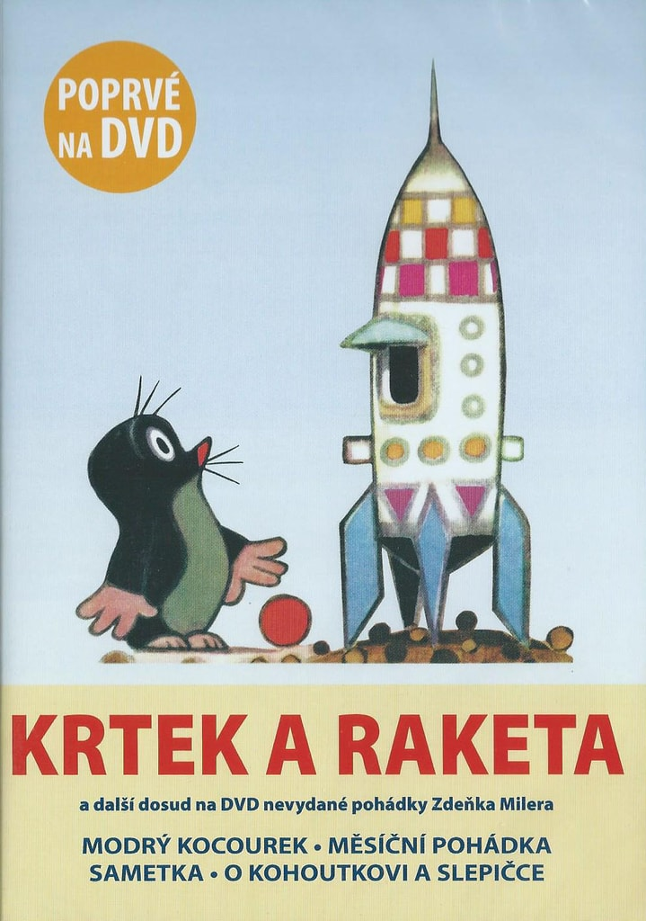 DVD Krtek a raketa