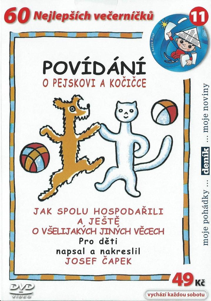 DVD Povídání o pejskovi a kočičce