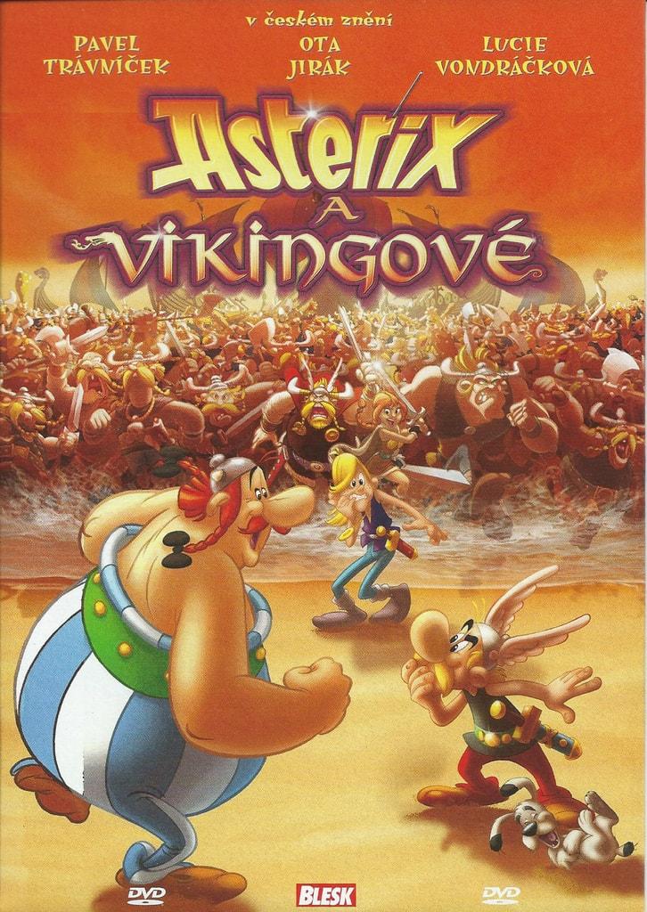 DVD Asterix a Vikingové (slim)