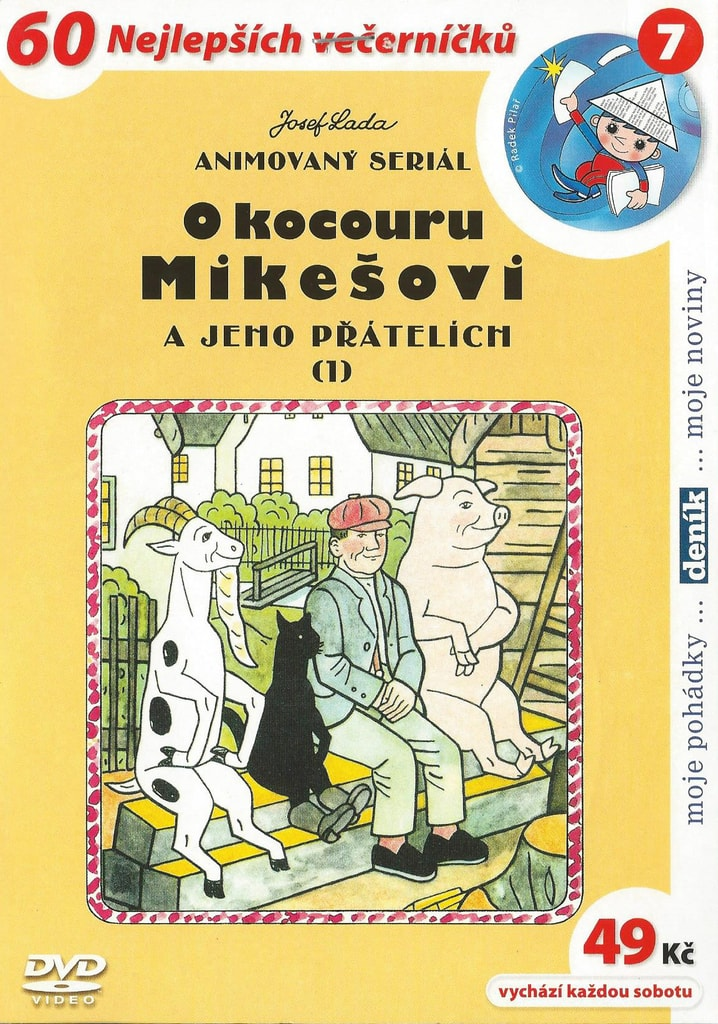 DVD O kocouru Mikešovi 1