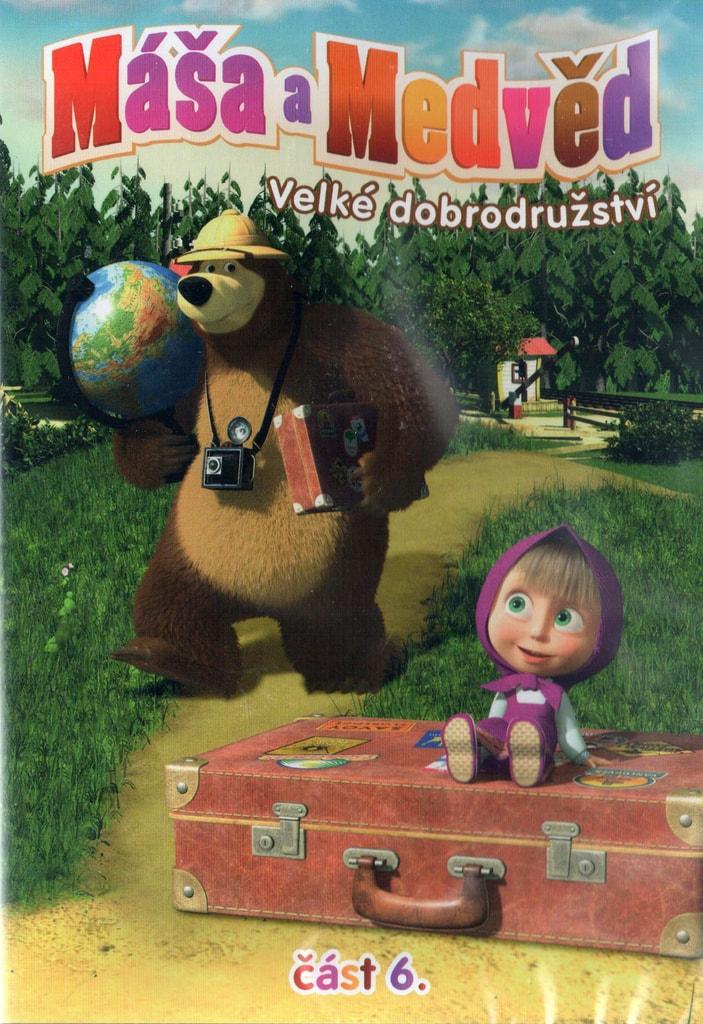 DVD Máša a Medvěd 6 - Velké dobrodružství