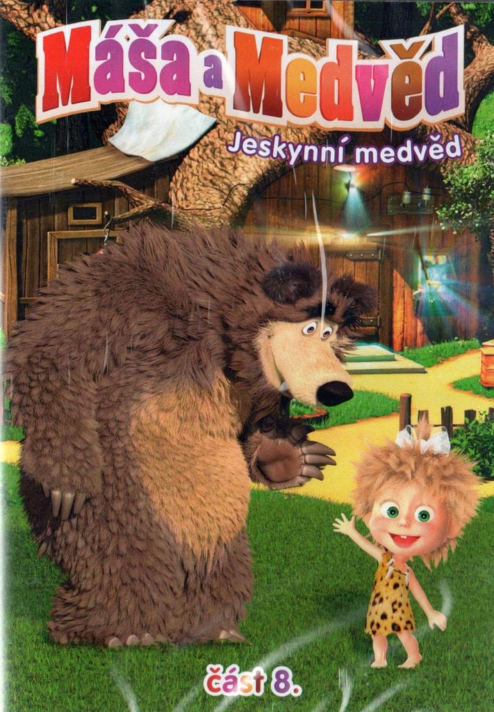 DVD Máša a Medvěd 8 - Jeskynní medvěd