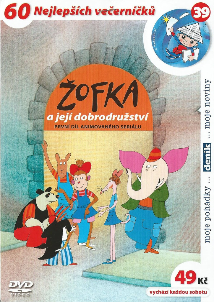 DVD Žofka a její dobrodružství 1