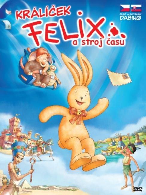 DVD Králíček Felix a stroj času