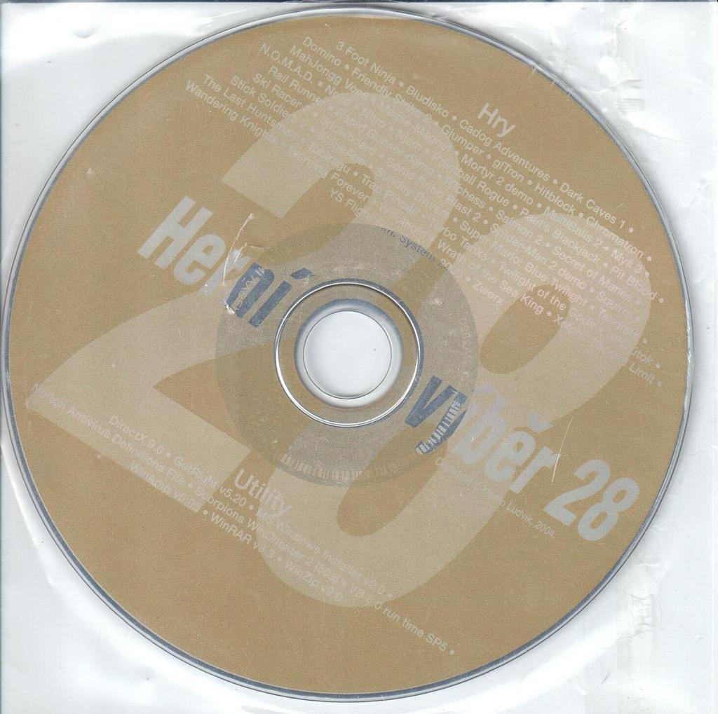 PC HRA Herní výběr 28