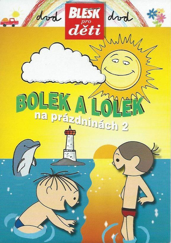 DVD Bolek a Lolek na prázdninách 2