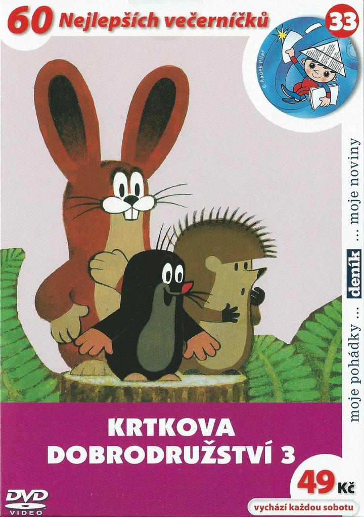 DVD Krtkova dobrodružství 3