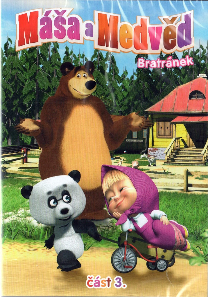 DVD Máša a Medvěd 3 - Bratránek