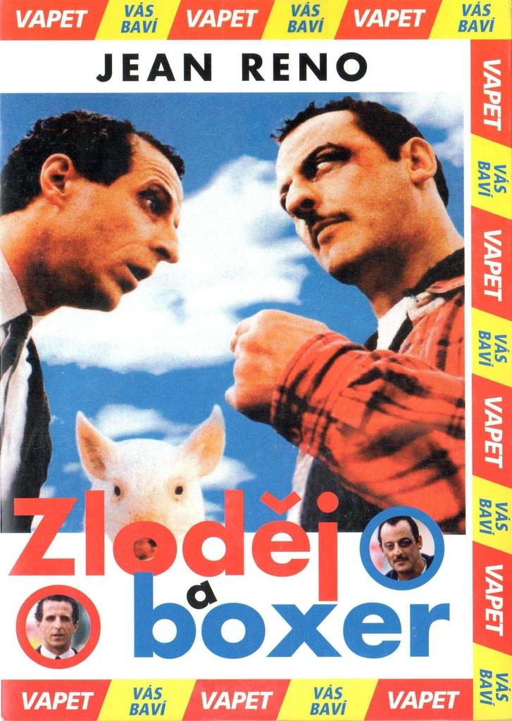 DVD Zloděj a boxer