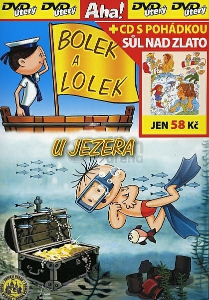 DVD Bolek a Lolek u jezera