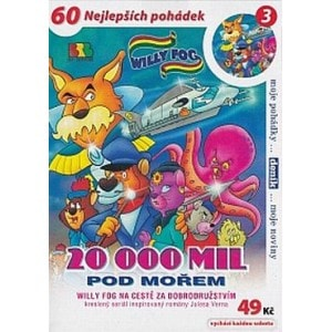 DVD Willy Fog - 20000 mil pod mořem 3