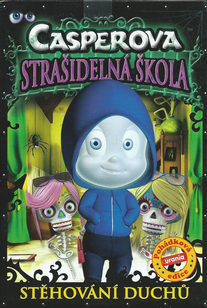 DVD Casperova strašidelná škola - Stěhování duchů