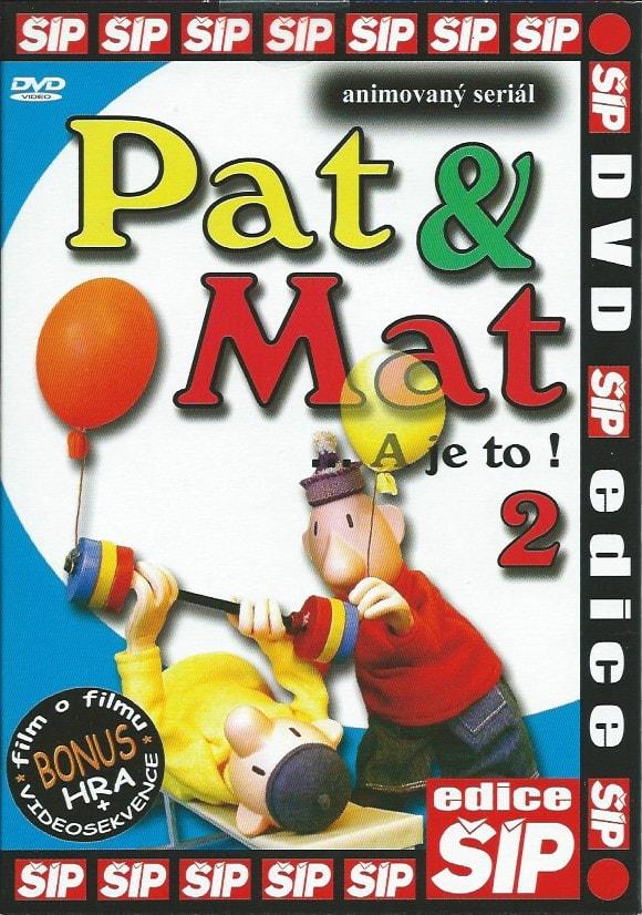 DVD Pat a Mat 2