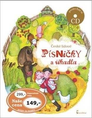 České lidové písničky a říkadla + CD