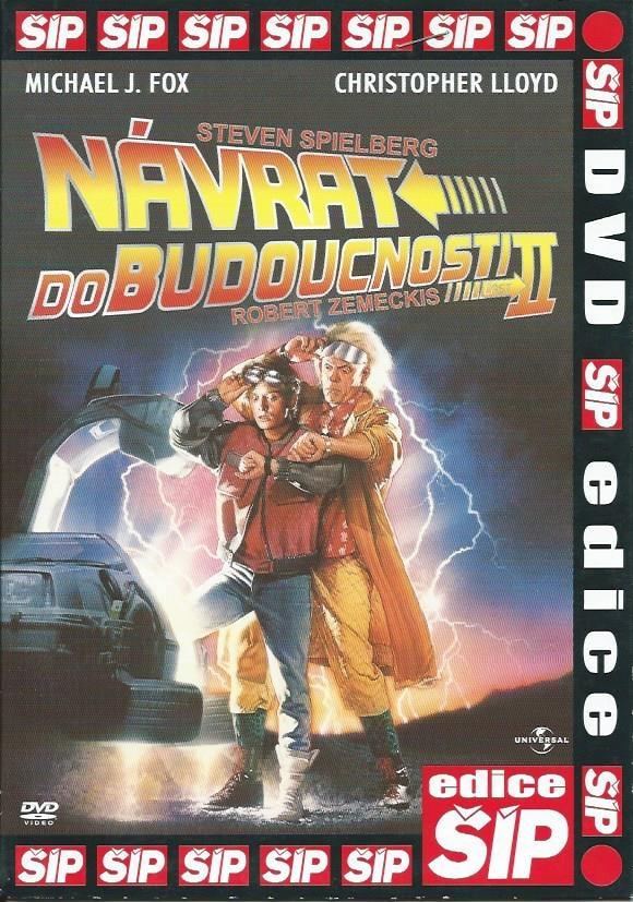DVD Návrat do budoucnosti II