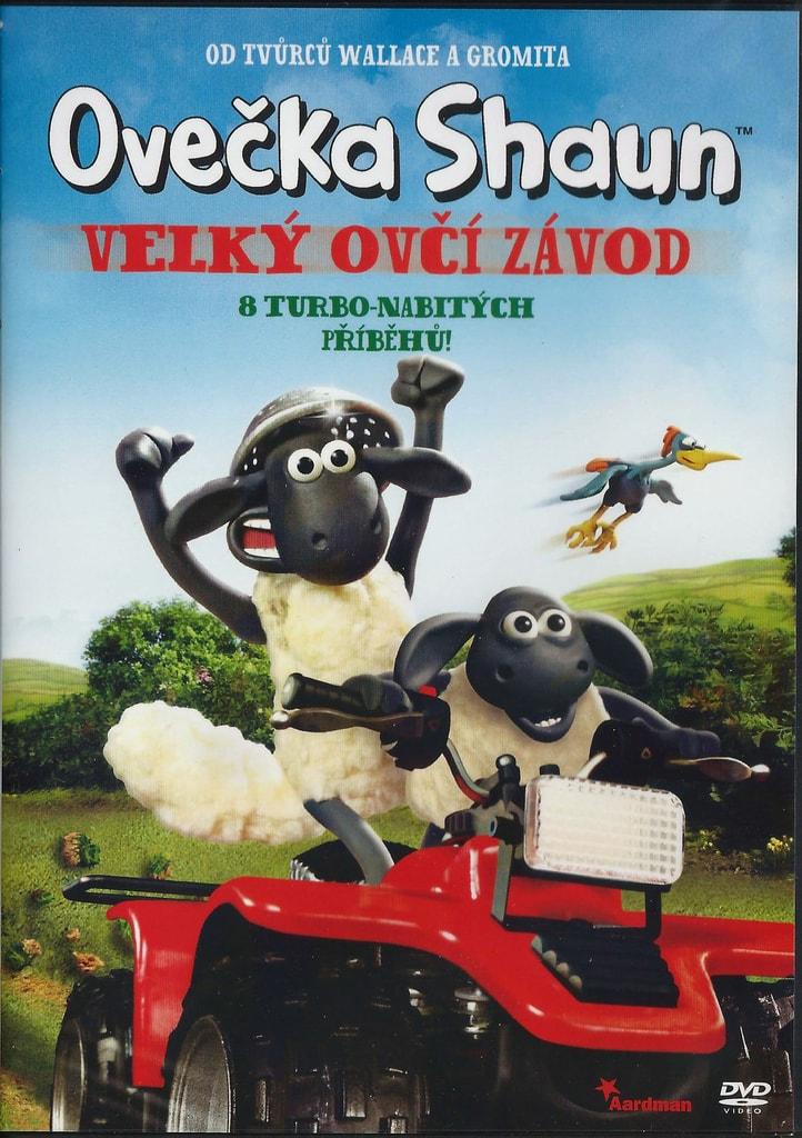 DVD Ovečka Shaun - Velký ovčí závod