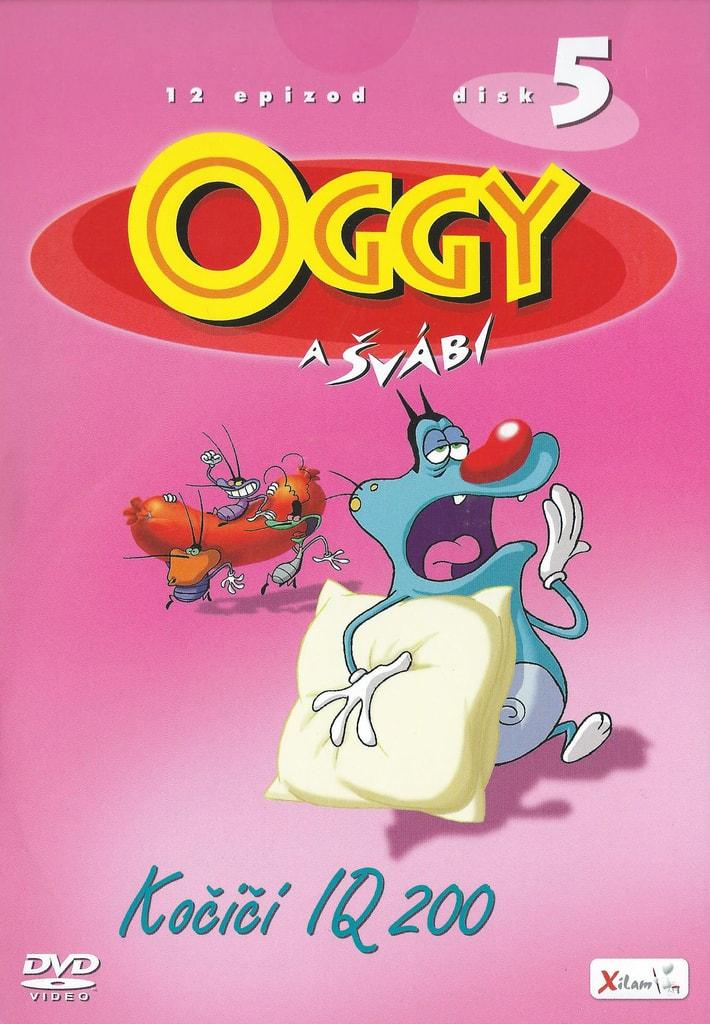 DVD Oggy a švábi 5 - Kočičí IQ 200