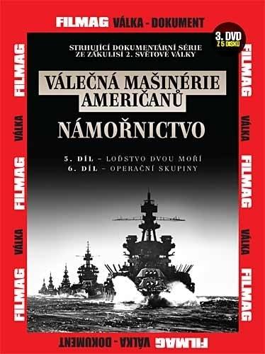 DVD Válečná mašinérie američanů - Námořnictvo