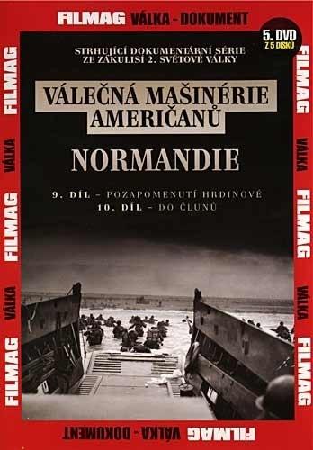 DVD Válečná mašinérie američanů - Normandie