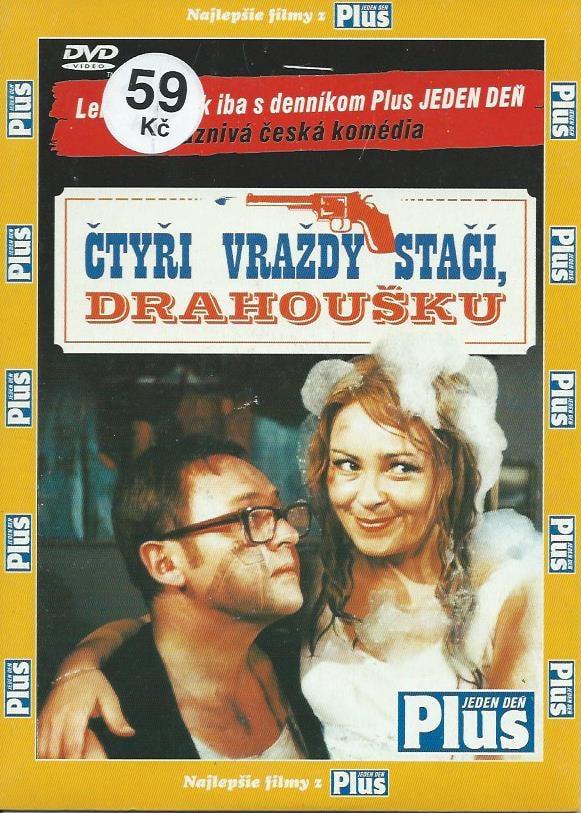 DVD Čtyři vraždy stačí, drahoušku