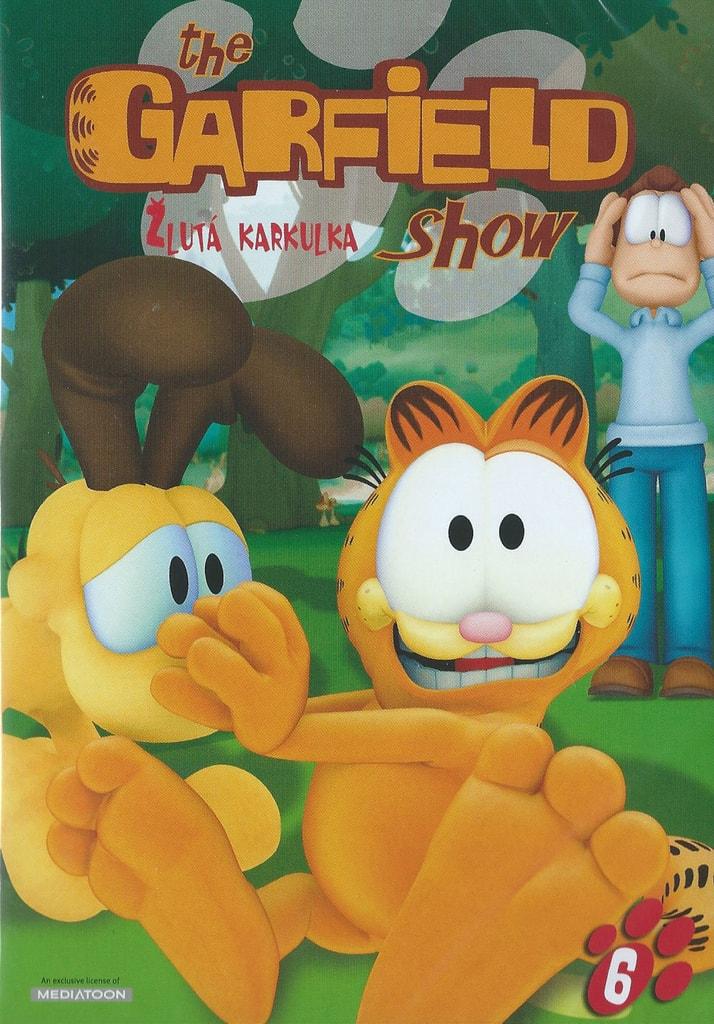 DVD The Garfield show 6 - Žlutá karkulka