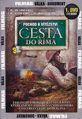 DVD Pochod k vítězství - Cesta do Říma 1