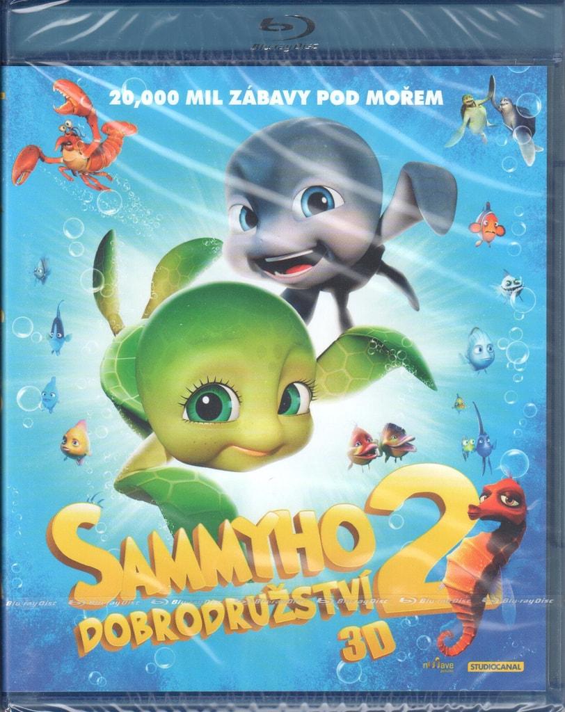 Blu-ray Sammyho dobrodružství 2 3D