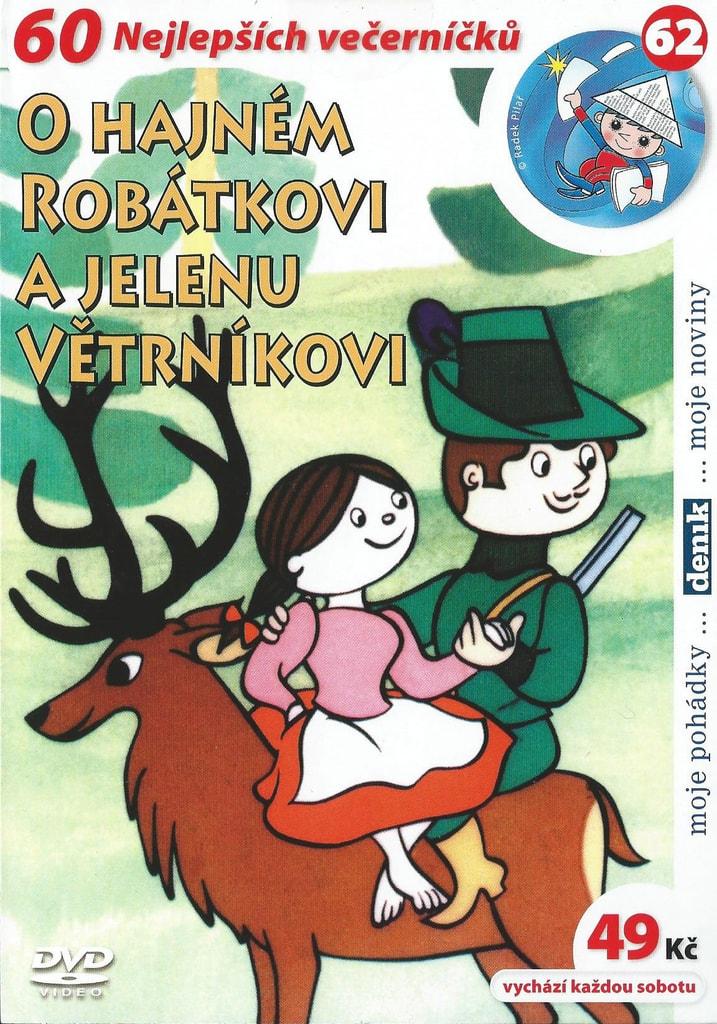 DVD O hajném Robátkovi a jelenu Větrníkovi