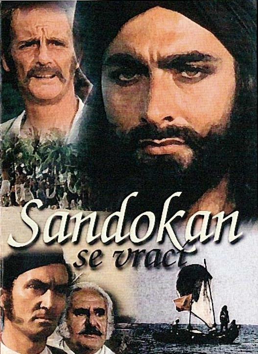 DVD Sandokan se vrací