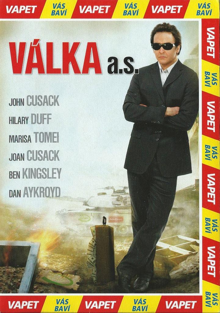 DVD Válka a.s.