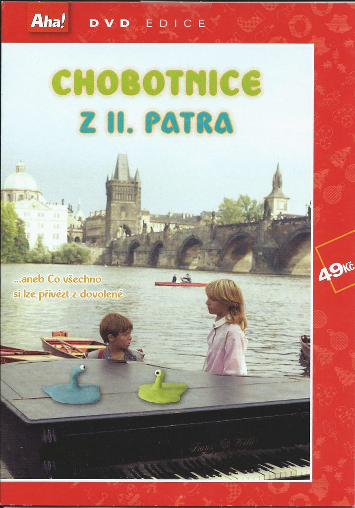 DVD Chobotnice z II. patra