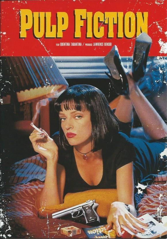DVD Pulp Fiction: Historky z podsvětí