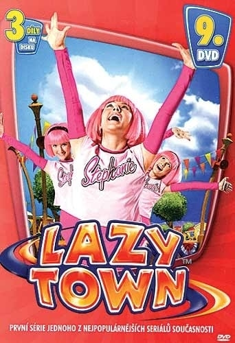 DVD Lazy Town 1. série 9. disk (Slim box)