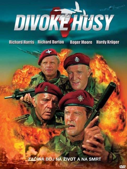 DVD Divoké husy