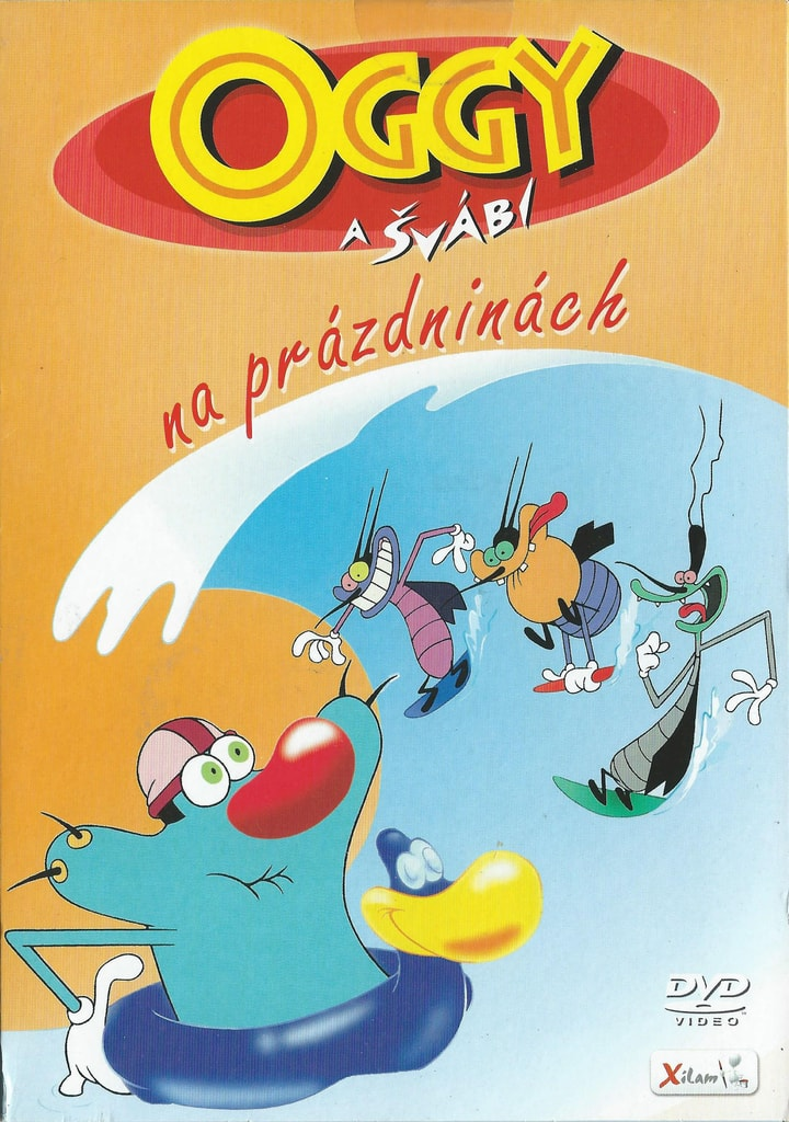 DVD Oggy a švábi – Na prázdninách