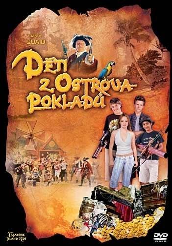 DVD Děti z ostrova pokladů