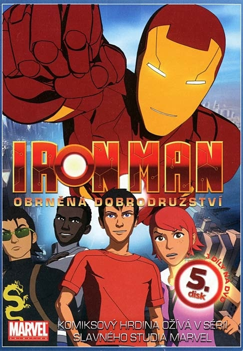 DVD Iron Man 5