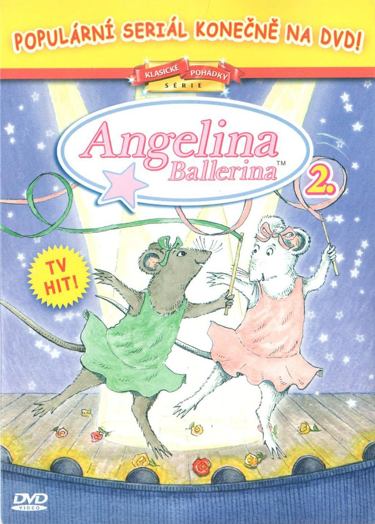 DVD Angelina Ballerina 2