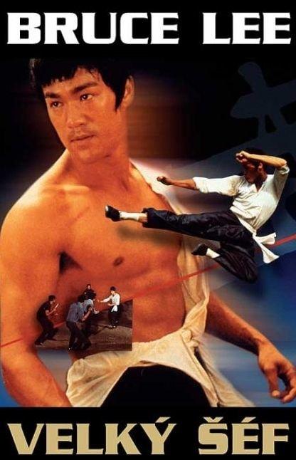 DVD Velký šéf (Bruce Lee)