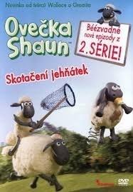DVD Ovečka Shaun - Skotačení jehňátek 2.série