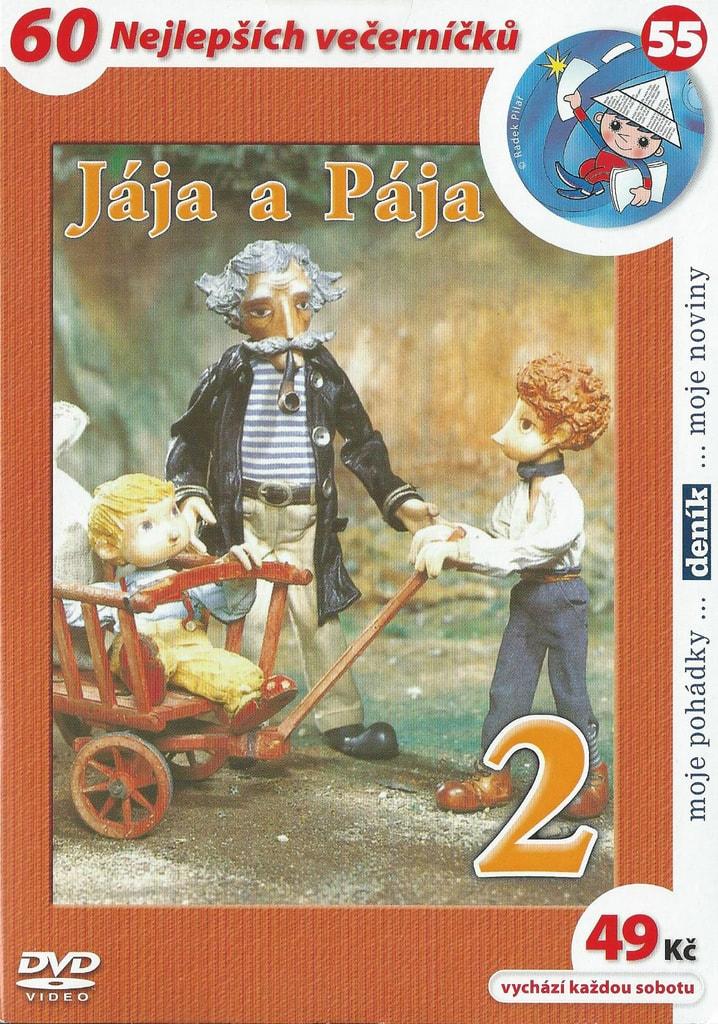 DVD Jája a Pája 2