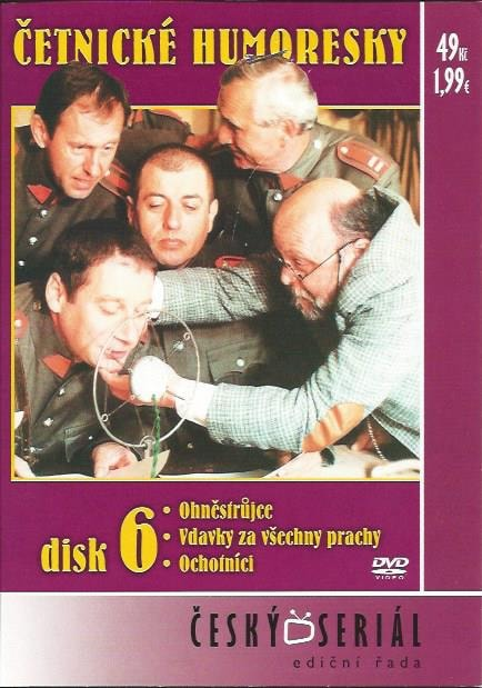 DVD Četnické humoresky 6