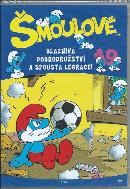 DVD Šmoulové 19
