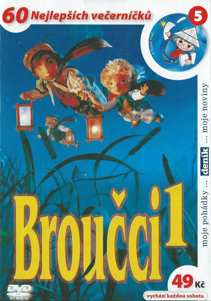 DVD Broučci 1