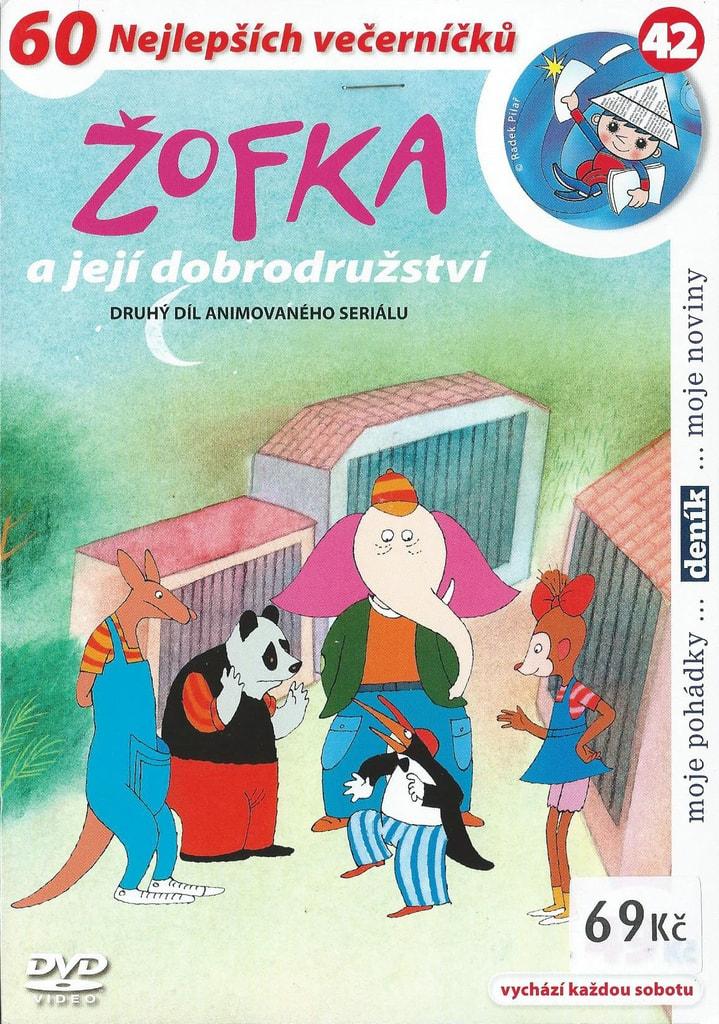 DVD Žofka a její dobrodružství 2