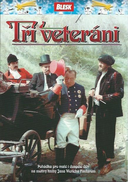 DVD Tři veteráni