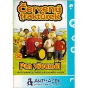 DVD Červený traktůrek 2