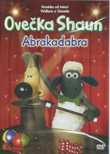 DVD Ovečka Shaun - Abrakadabra