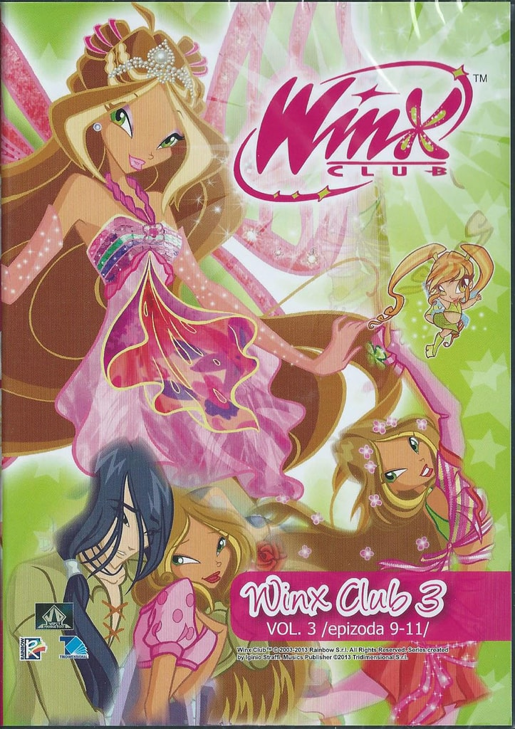 DVD WinX Club 3. série DVD3